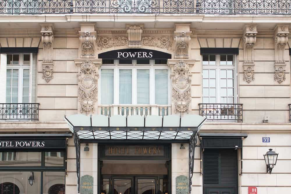 Paris : Where to Stay in Paris, Hotel Powers