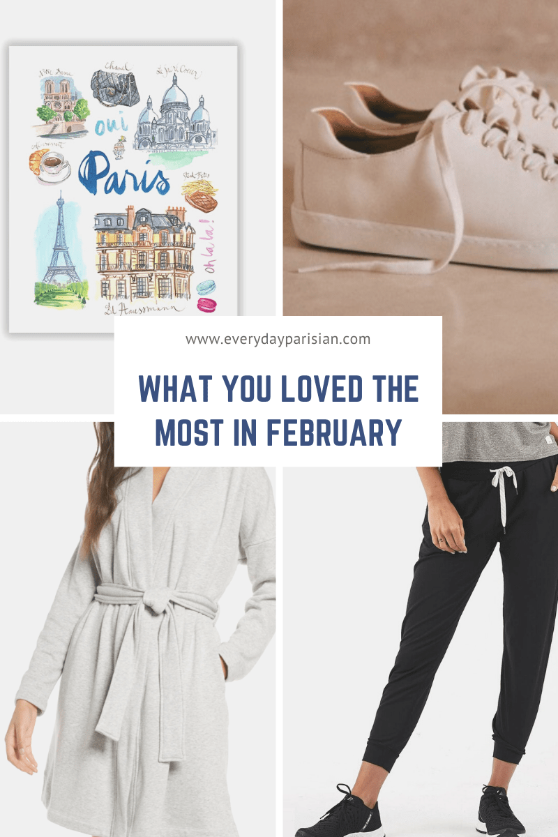 What You Loved the Most in February