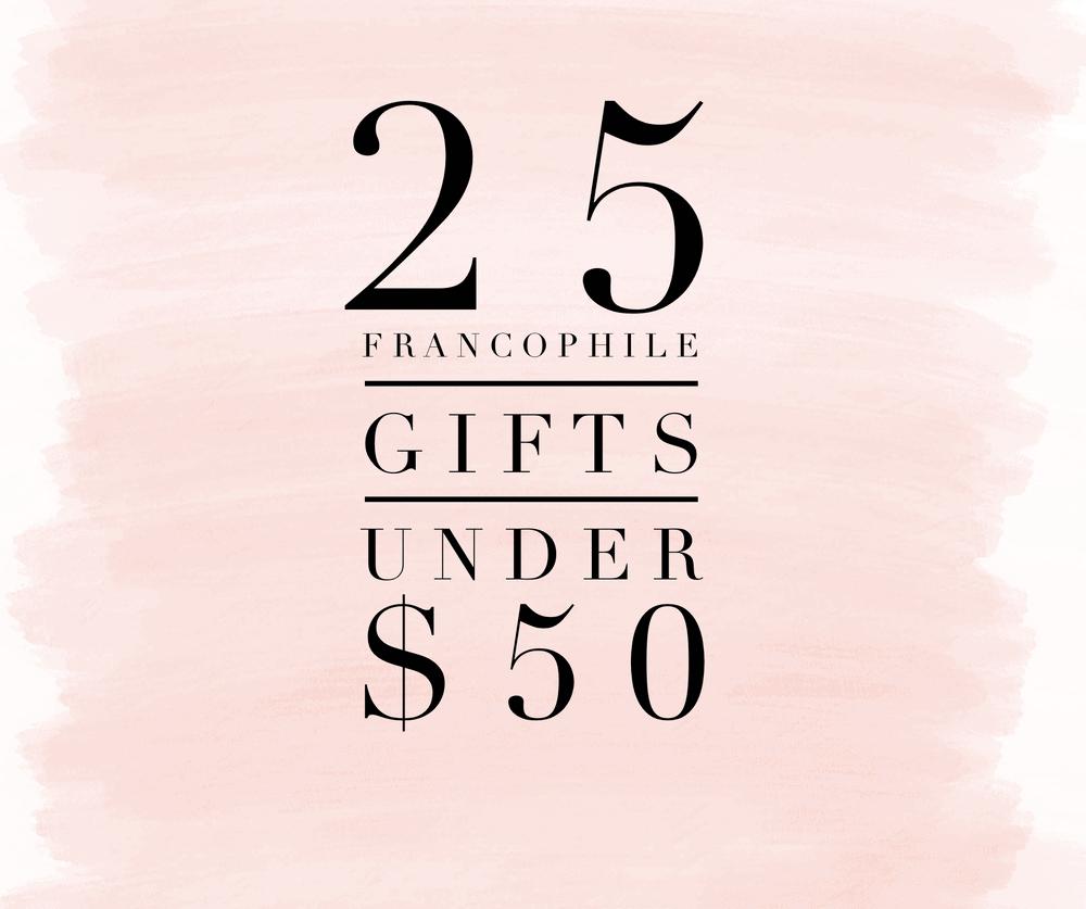 25 Francophile Gifts Under $50