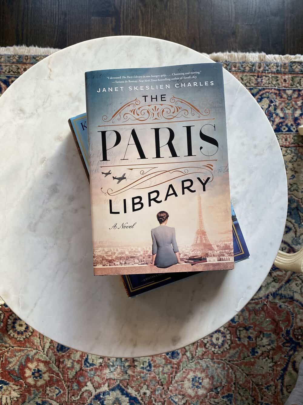 the paris library what I am reading now everyday parisian