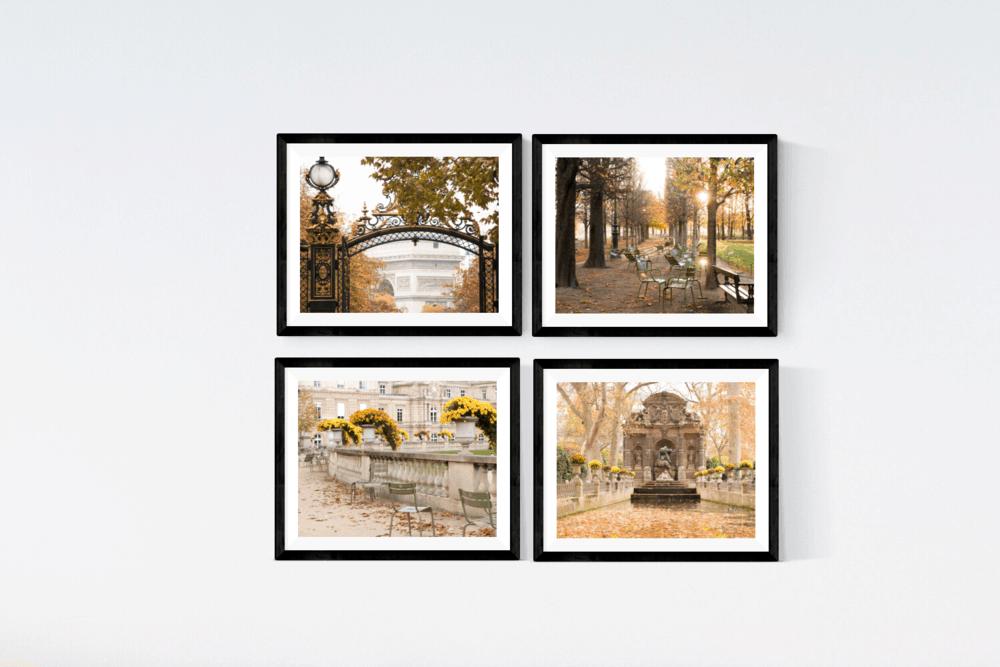 Fall Paris Print Set Rebecca Plotnick