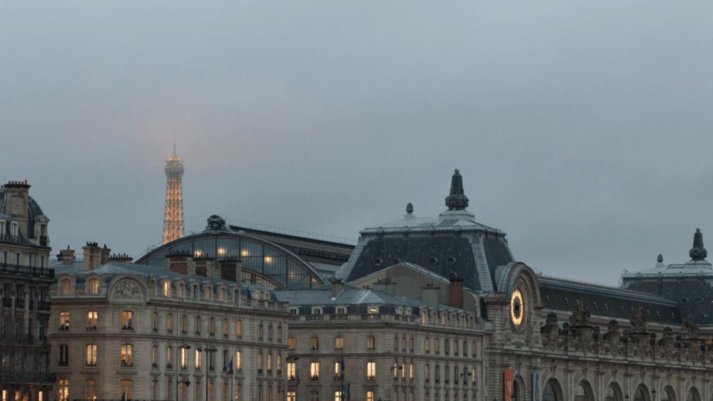 zoom Paris winter backgrounds rebecca plotnick