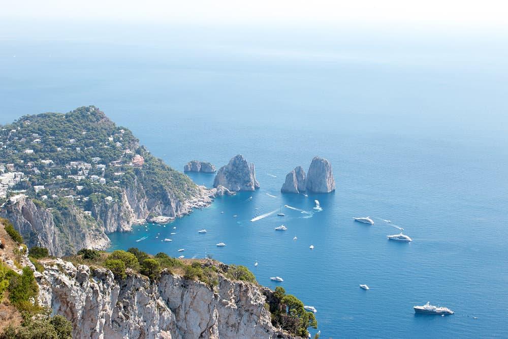 Faraglioni Rocks in Capri, Italy Shop HERE