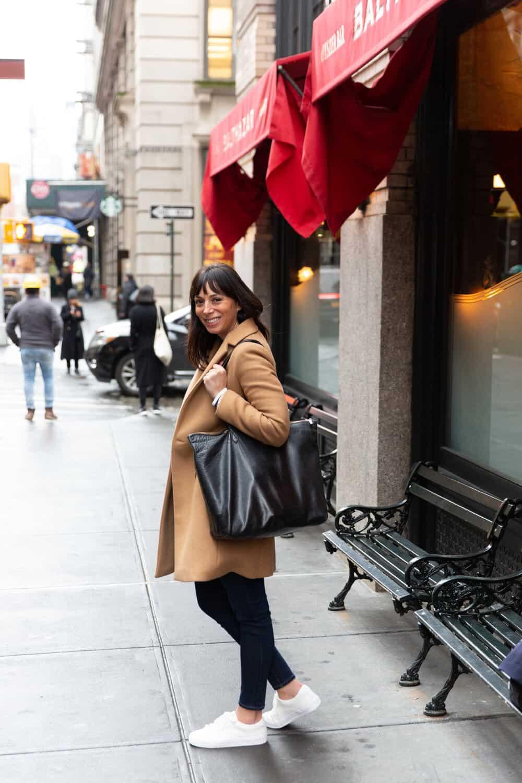 top zip cuyana tote everyday parisian