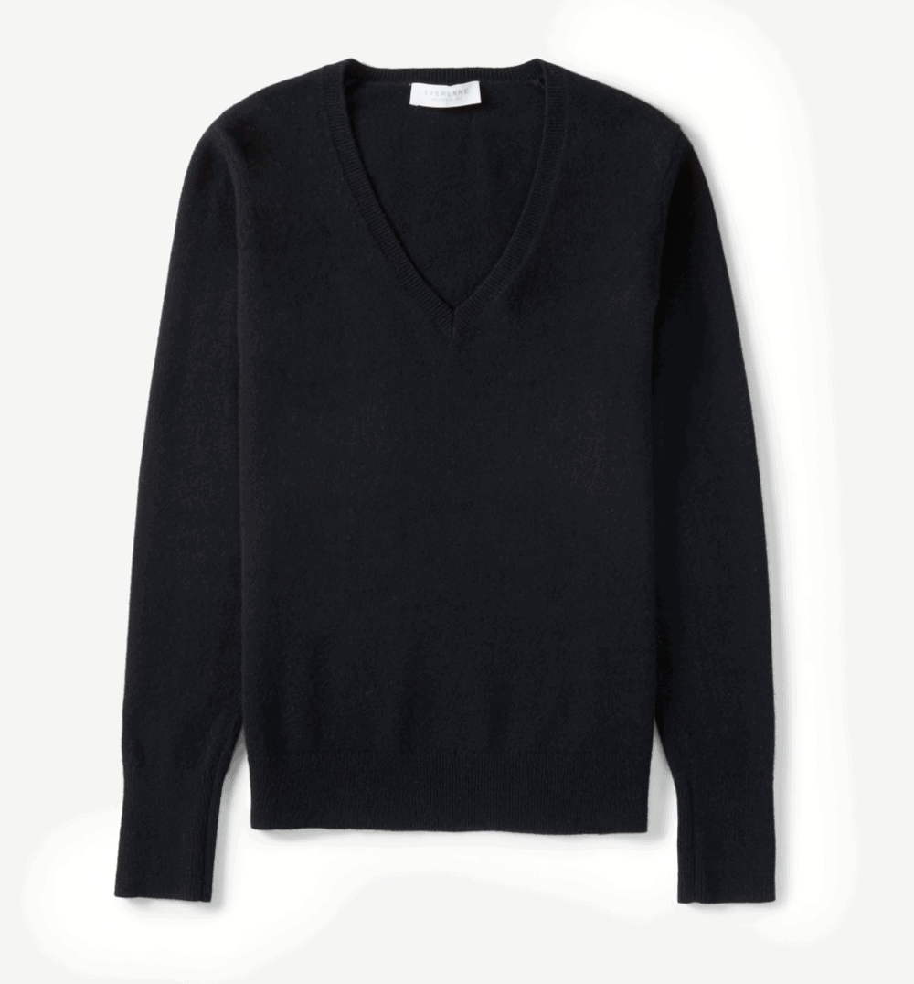 everlane sweater comfortable work from home