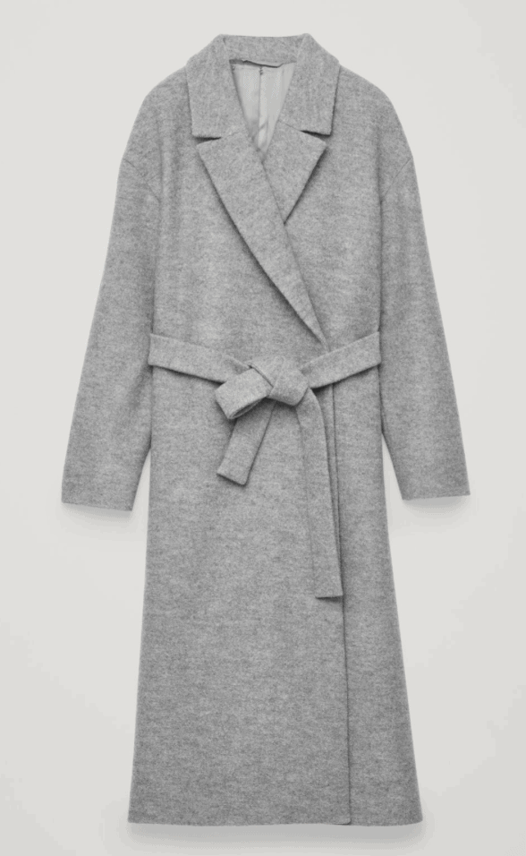 cos belted jacket paris fall trends