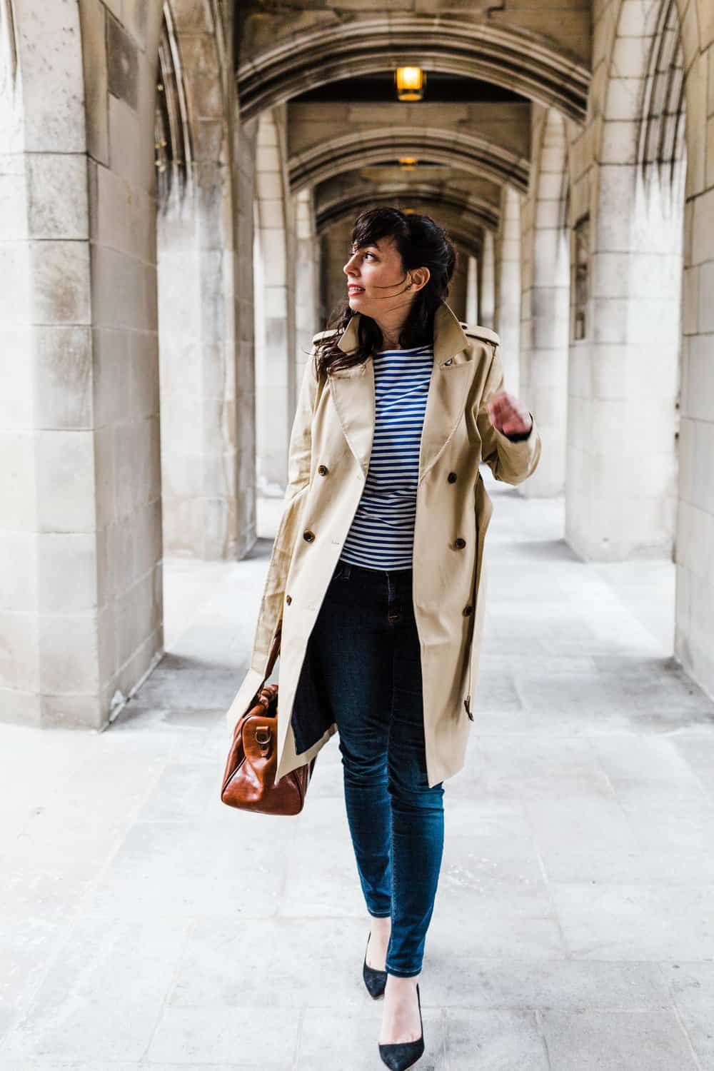 trench coat everyday parisian what to pack for paris in the fall