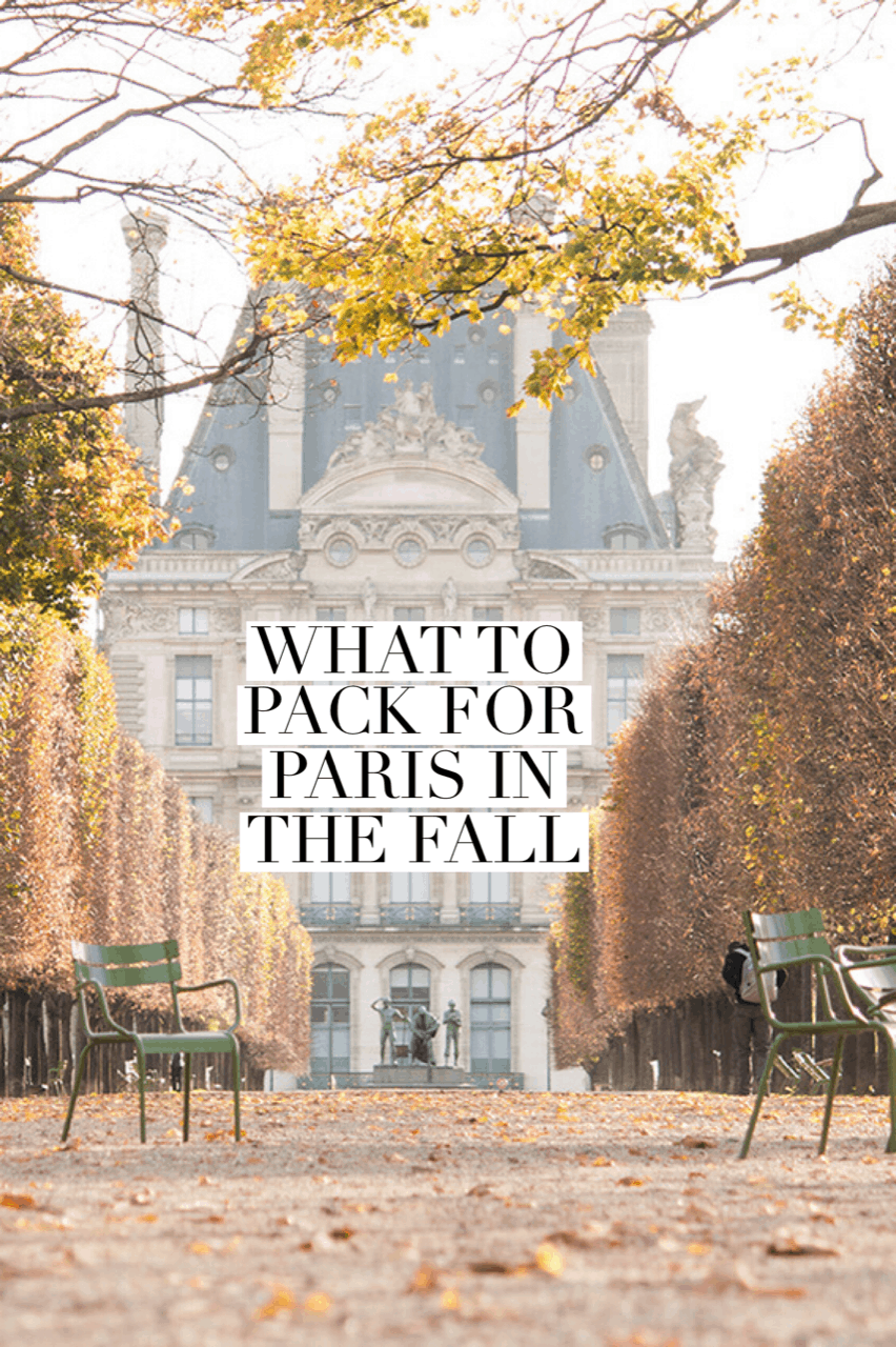 what to pack for paris in the fall by every day parisian