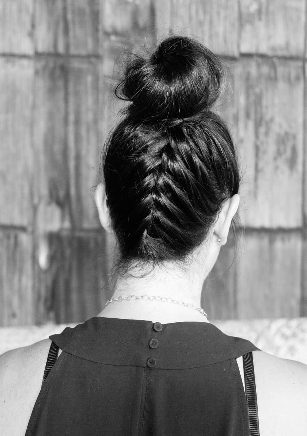 french top knot