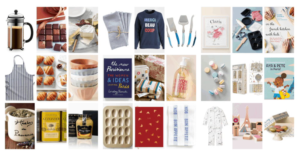 francophile gift guide 2020 everyday parisian