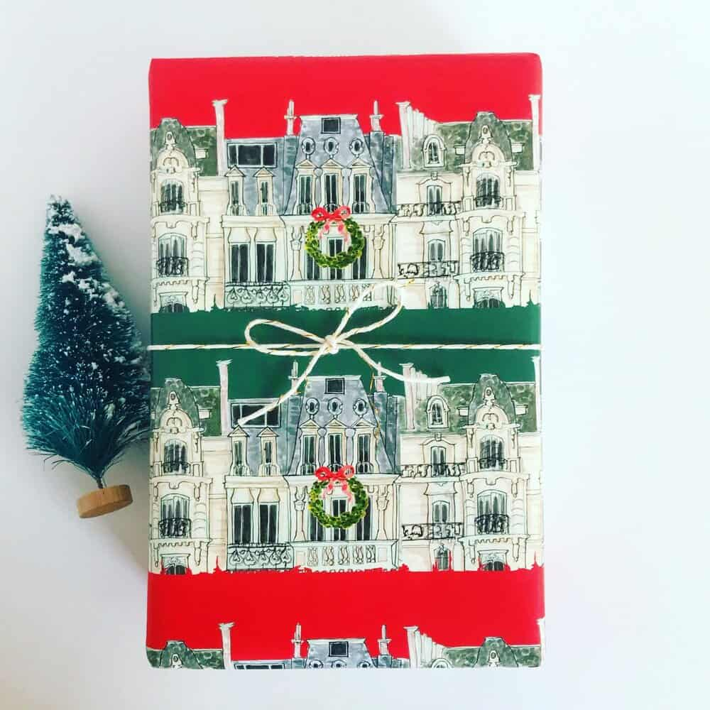the best holiday wrapping paper everyday parisian