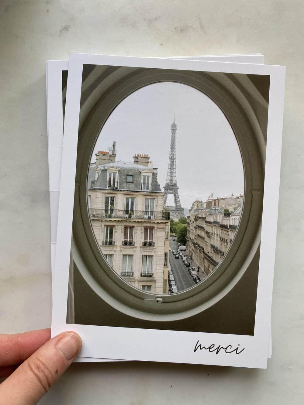merci notecards everyday parisian print shop