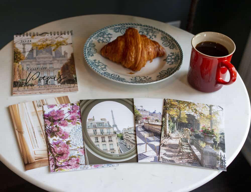 a year in paris calendar everyday parisian notecards