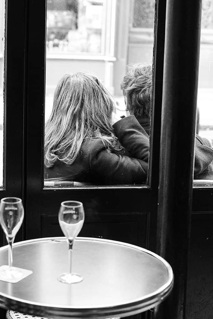lovers in a paris cafe rebecca plotnick