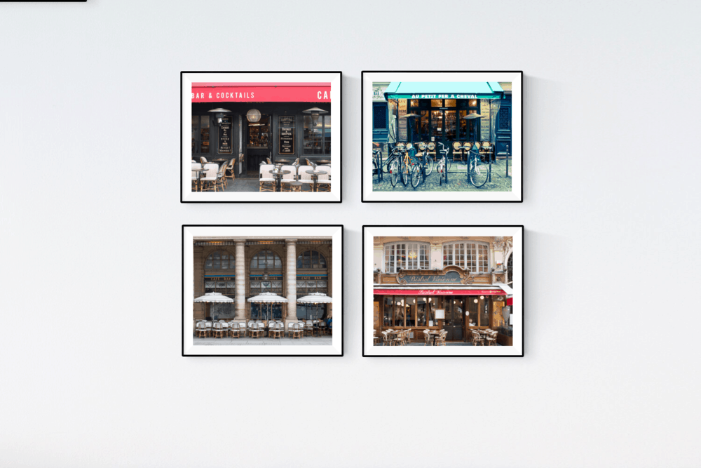 paris cafe print set rebecca plotnick