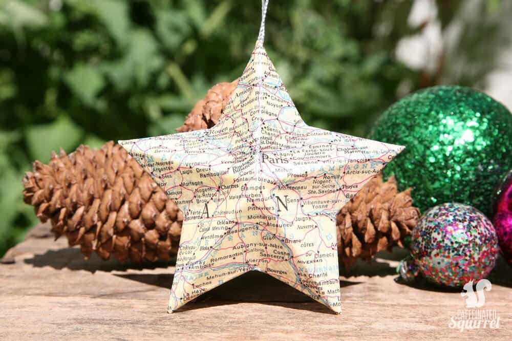 paris map star etsy holiday ornaments everyday parisian