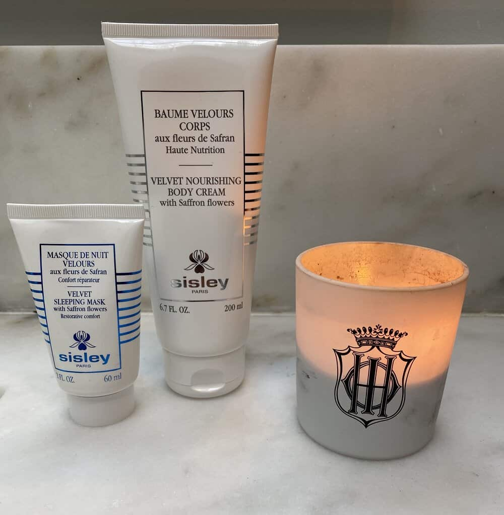 at home spa time with sisley paris