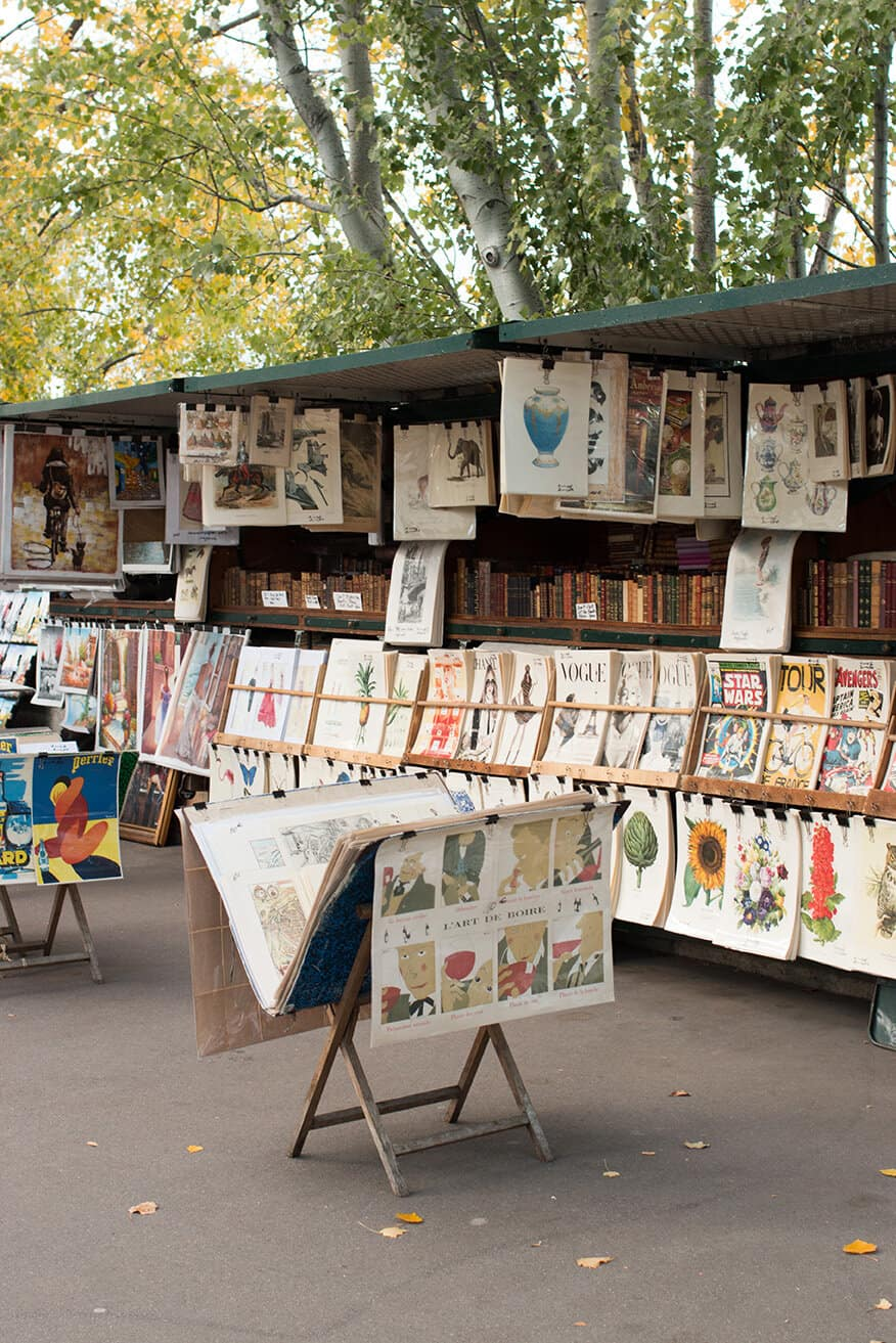 Shop Weekends in Paris Along The Seine Print Here