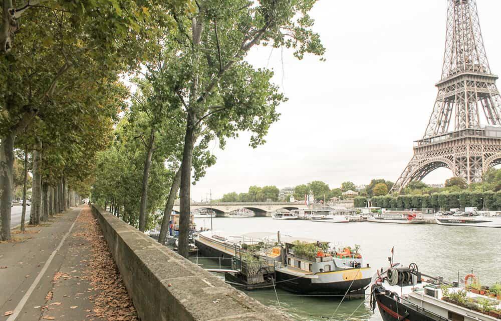 Shop Eiffel Tower Fall in Paris