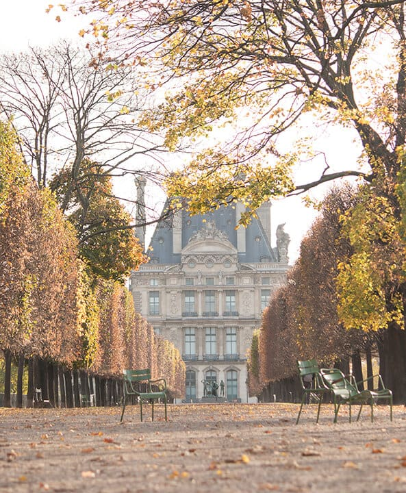 Shop Fall Light in the Tuileries Print Here