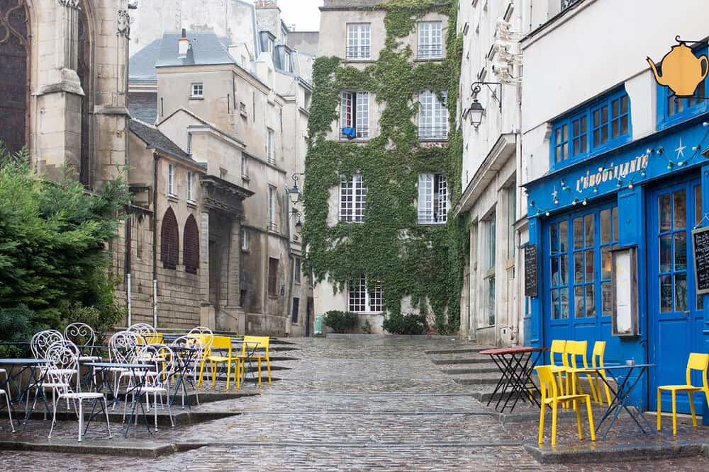 Shop Rainy Day in the Marais Print Here