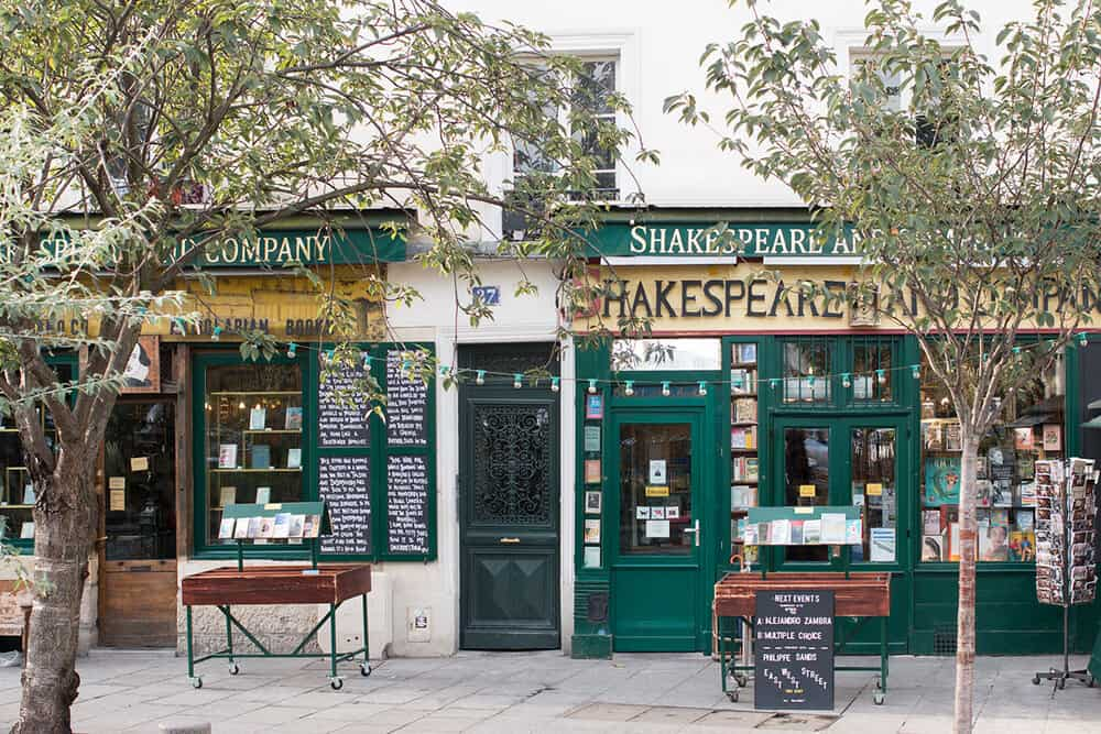 Shop Shakespeare and Company Print Here