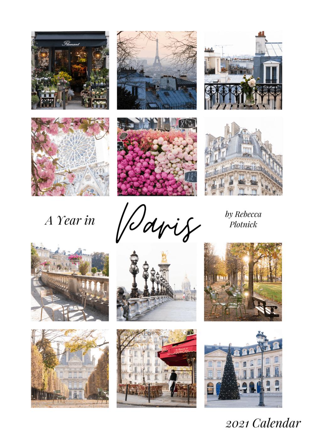 a year in paris calendar 2021 rebecca plotnick