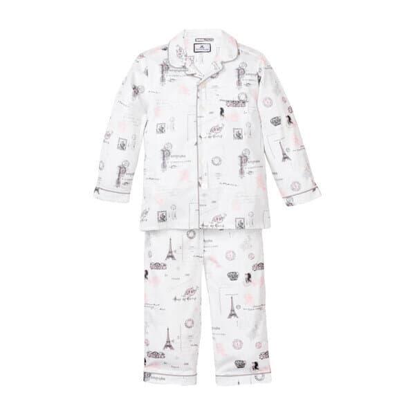 paris pajama set everyday parisian