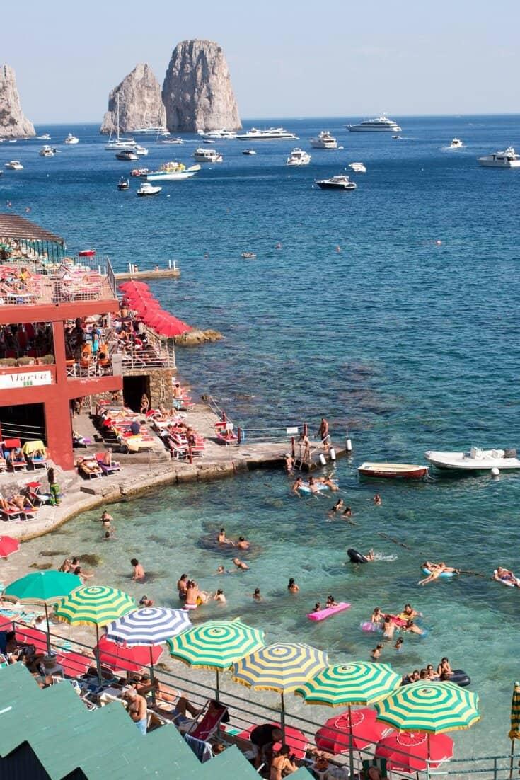 Shop Beach Club in Capri Print Here