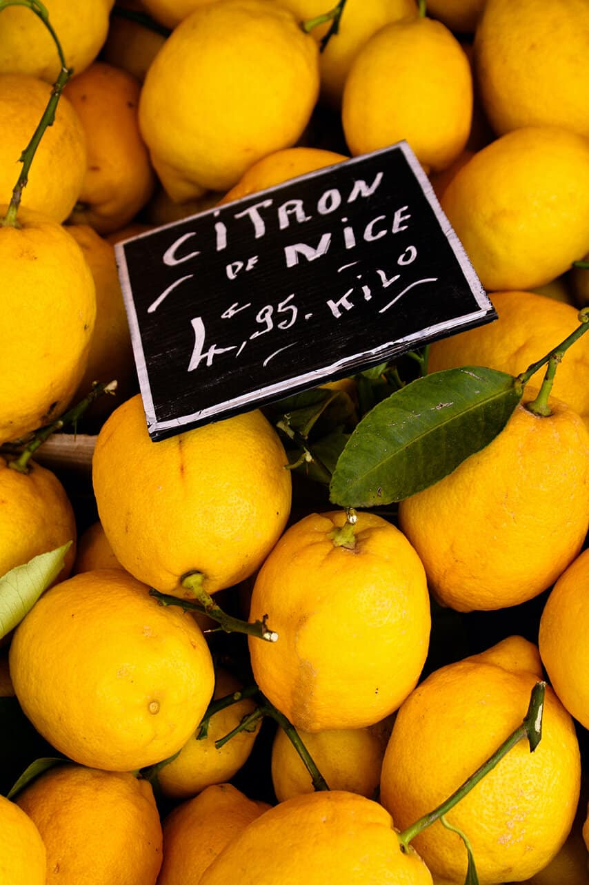 Shop Lemons at the Market in Nice, France Here