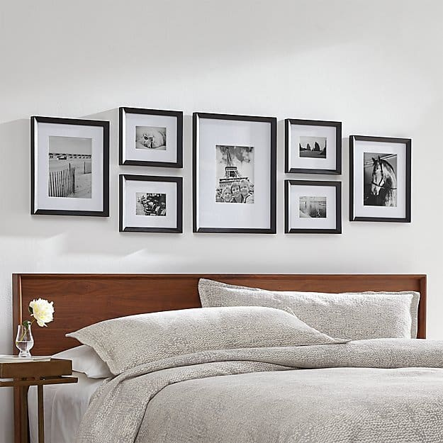 where to buy frames for your Gallery Wall everyday parisian image via crate and barrel