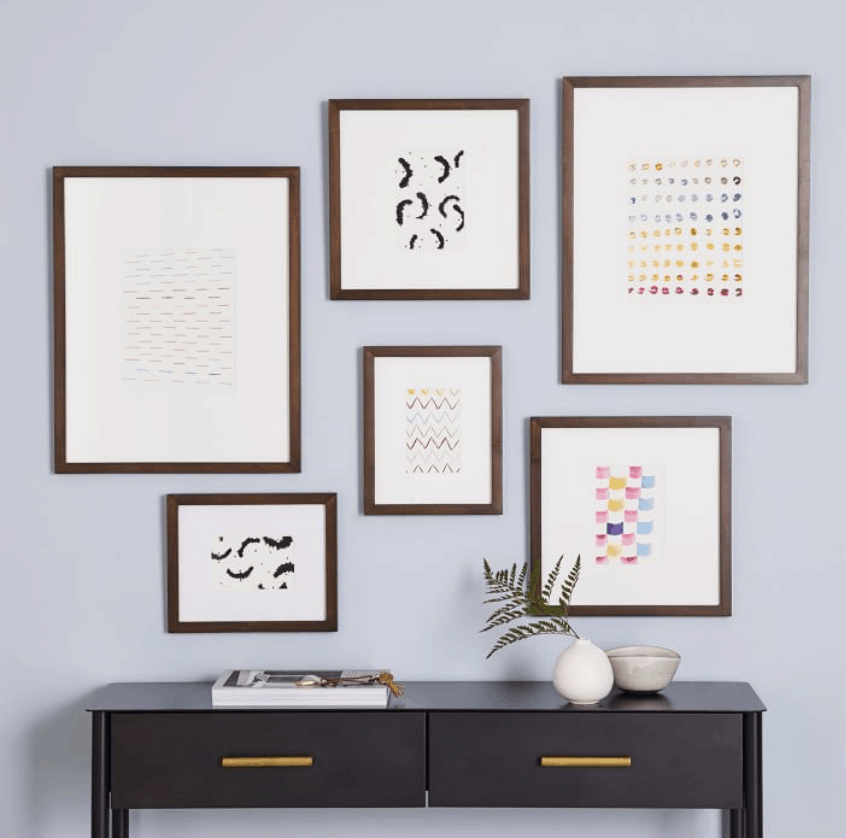 where to buy frames for your gallery wall west elm