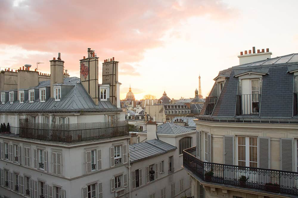 Shop Sunset on St Germain Paris Print Here
