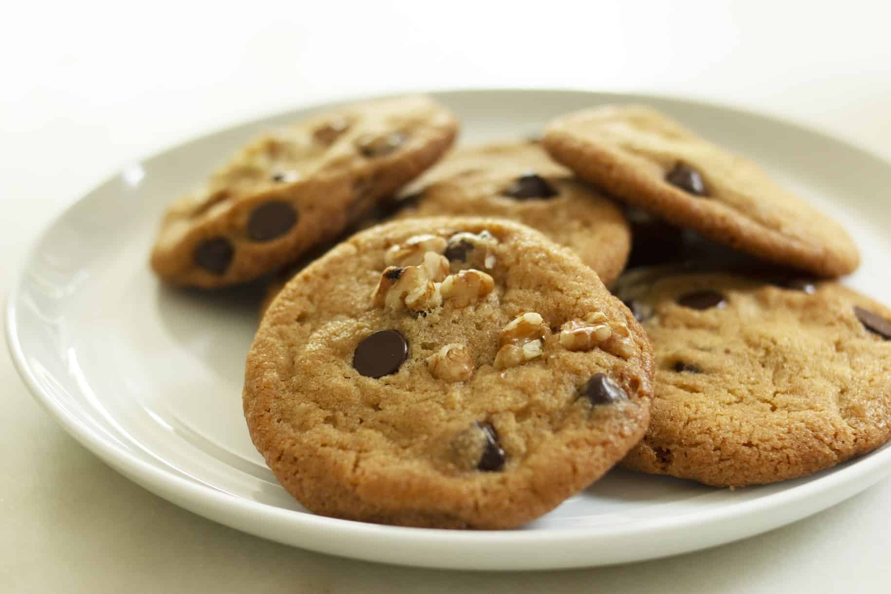 Ultra Soft Chocolate Chip Cookies with Sunflower Seeds