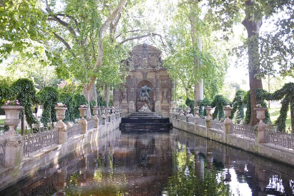 Shop Luxembourg Gardens Summer Print Here