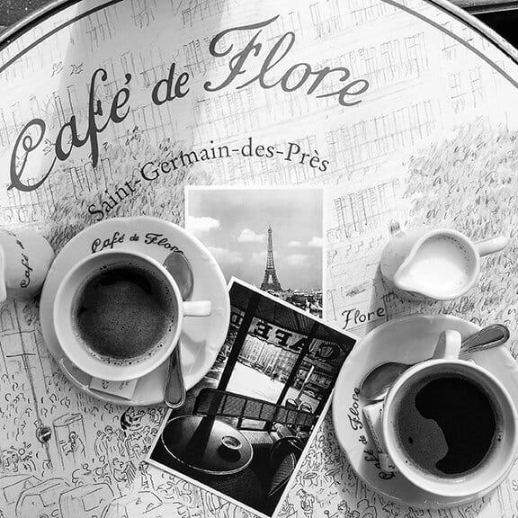 Shop Café de Flore Paris Print Here