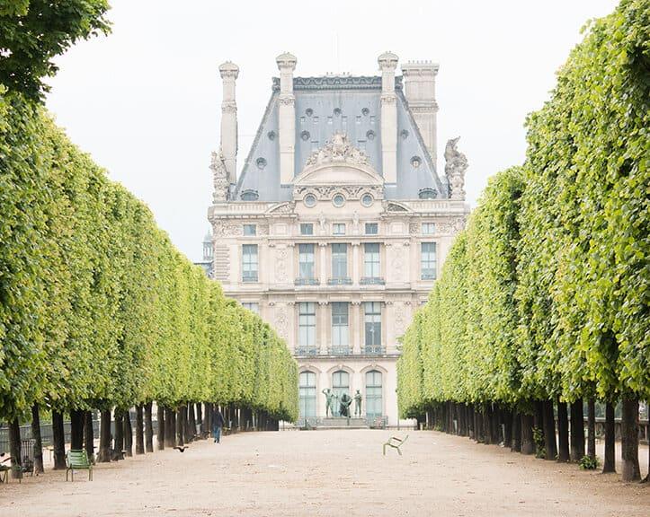 Shop A Walk Through the Tuileries Print Here