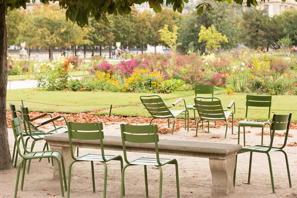 Shop Spring Gardens in The Tuileries Print Here