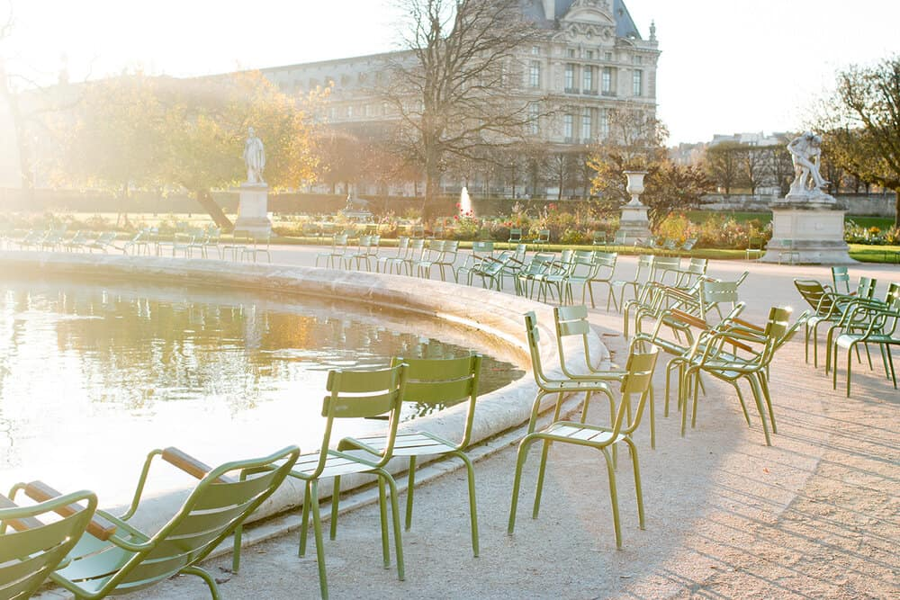 Shop Morning Fall Light in The Tuileries Print Here