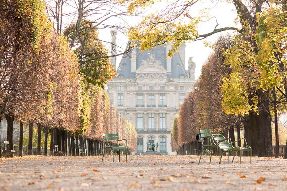 Shop Autumn Light in the Tuileries Print Here