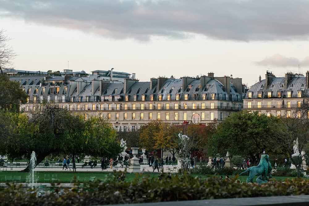 Shop Paris Light in The Tuileries Print Here