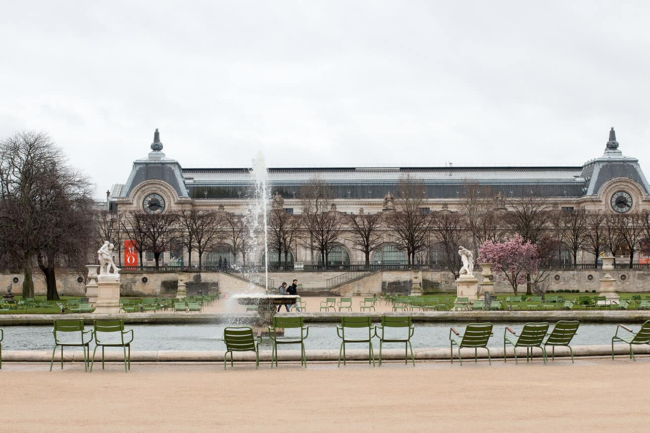 Shop Springtime in The Tuileries Print Here