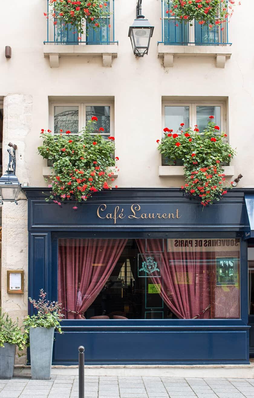 Shop Café Laurent Paris Print Here
