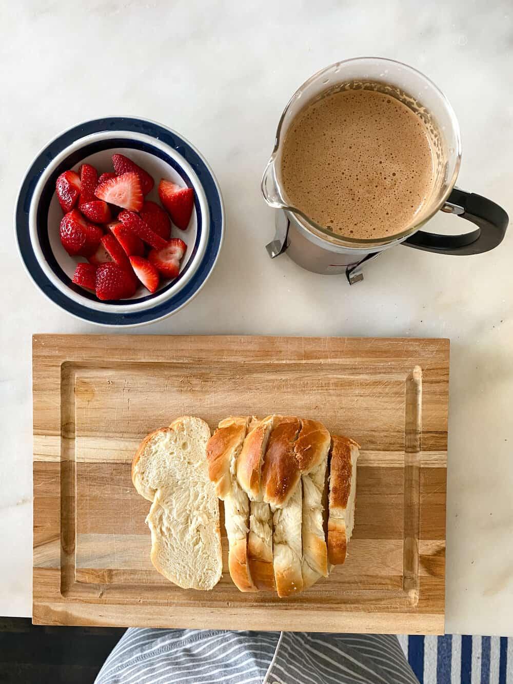 Challah Recipe everyday parisian challah french toast