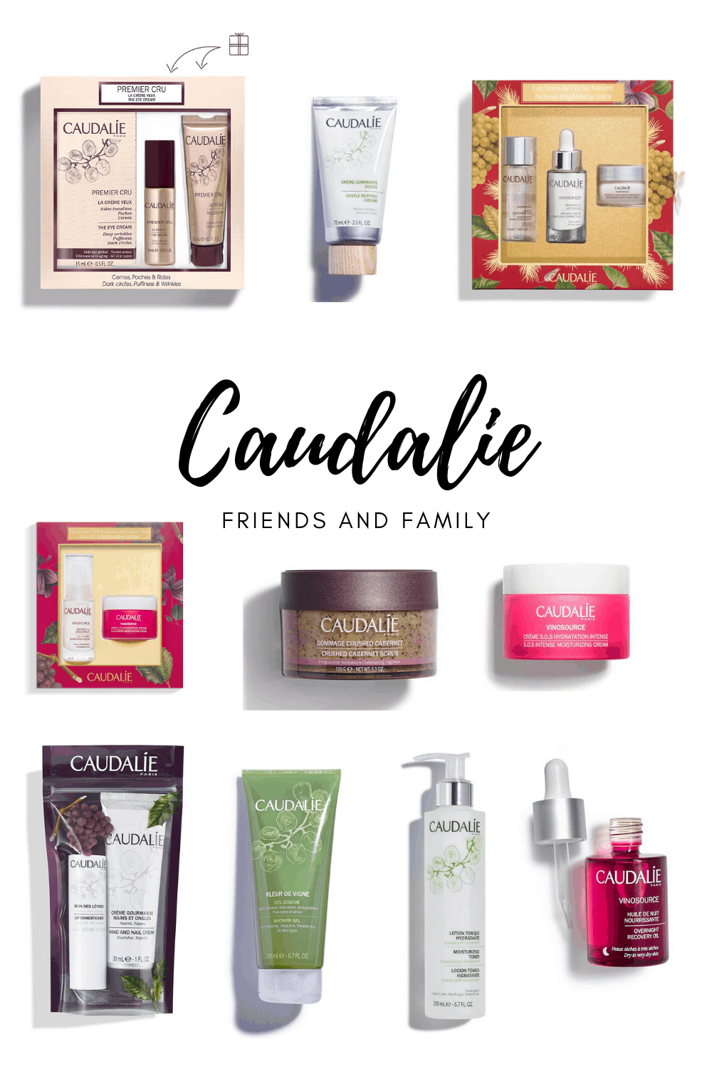 caudalie friends and family