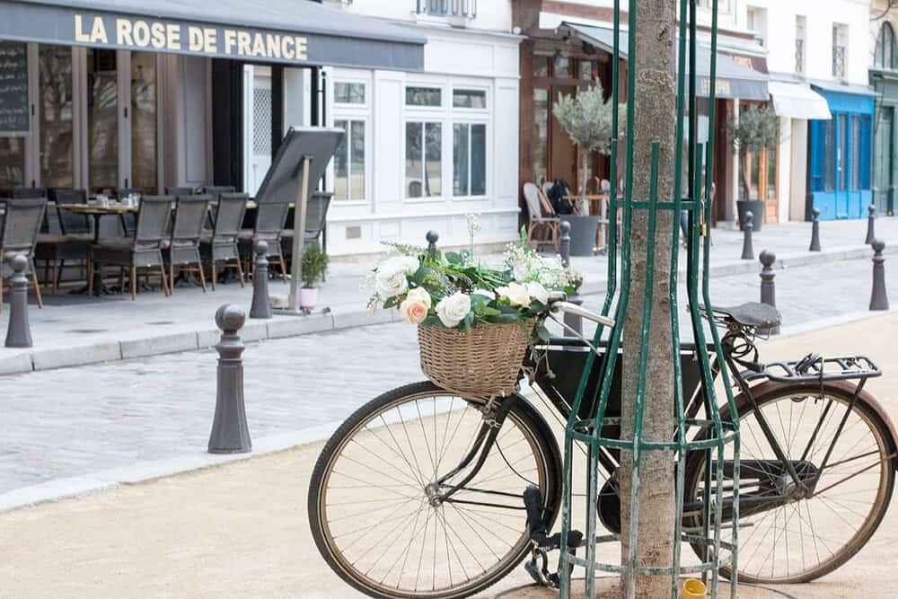 Shop Bike in Place Dauphine Print Here