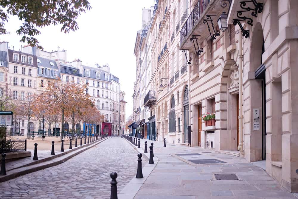 Shop Autumn in Place Dauphine Print Here