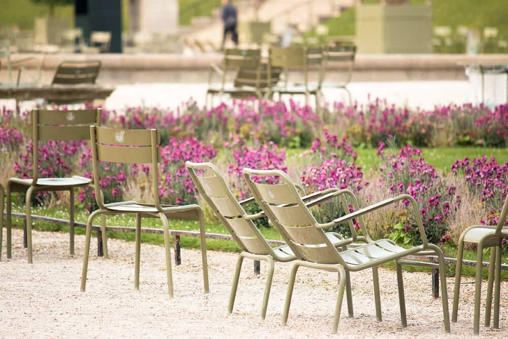 Shop Spring in Luxembourg Gardens Print Here