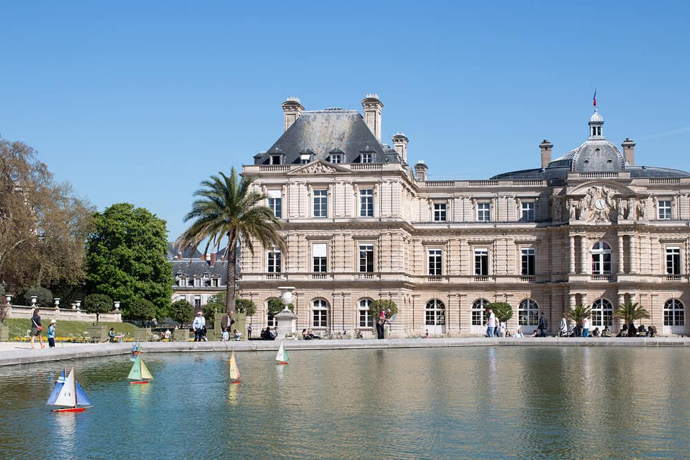 Shop Paris Spring in Luxembourg Gardens Print Here