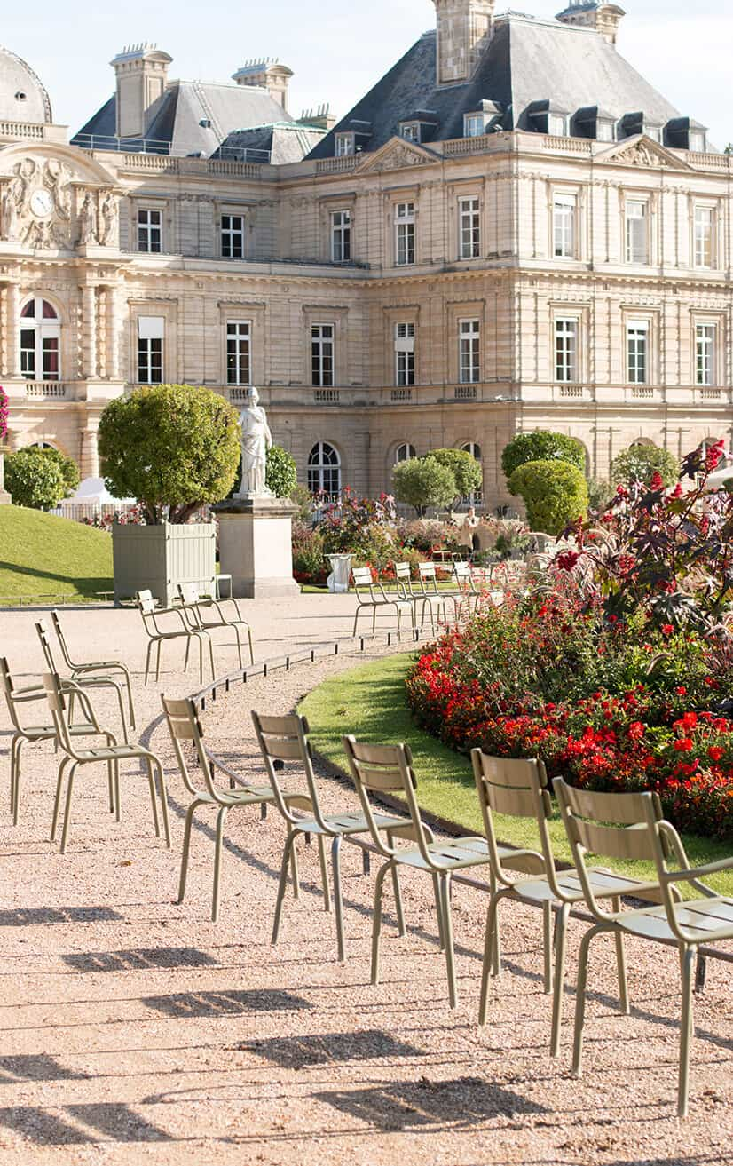 Shop Fall Luxembourg Gardens Print Here